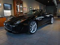 This stunning Jaguar is optioned with Ultimate Black