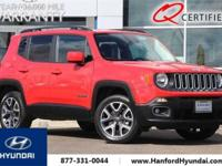 New Price! CARFAX One-Owner. Colorado Red 2015 Jeep