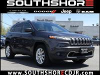 CARFAX One-Owner. 2015 Jeep Cherokee Limited Brilliant