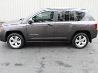 This Jeep Compass Latitude is the High Altitude Edition