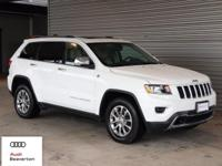 Check out this gently-used 2015 Jeep Grand Cherokee we