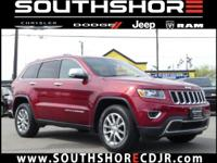 CARFAX One-Owner. 2015 Jeep Grand Cherokee Limited Deep