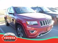 This 2015 Jeep Grand Cherokee Overland is proudly