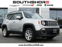 New Price! Clean CARFAX. 2015 Jeep Renegade Latitude