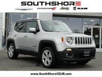 2015 Jeep Renegade Limited Glacier Metallic 29/21