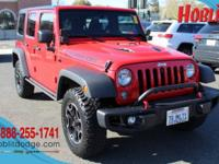 Jeep Factory Certified, Hard Rock Pkg, Clean CARFAX,