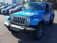 This 2015 Jeep Wrangler Unlimited Freedom Edition is