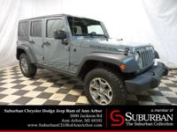 2015 Jeep Wrangler Rubicon 4x4 with ** LEATHER **