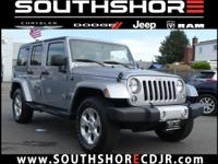 New Price! CARFAX One-Owner. 2015 Jeep Wrangler