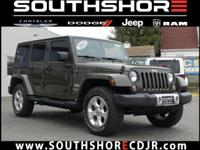 CARFAX One-Owner. 2015 Jeep Wrangler Unlimited Sahara