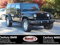 1 Owner, Clean Carfax! This 2015 Jeep Wrangler