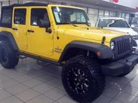 "NEW 2015 Jeep Wrangler Unlimited Sport ""SNIPER EDITION"""