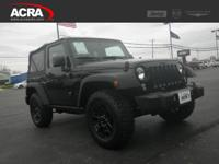 2015 Wrangler, 25,845 miles, options include: an