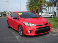 2015 Kia Forte Koup Koup S X, One Owner, Leather,