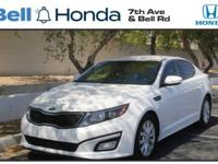 New Price! CARFAX One-Owner. Clean CARFAX. Optima EX,