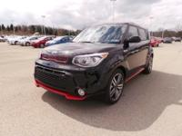 Look at this 2015 Kia Soul +. It has an Automatic