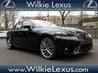 One-Owner. Clean CARFAX. Certified. Obsidian 2015 Lexus
