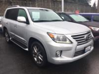 LX 570 4D SUV 4WD  Options:  Navigation System With