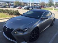 We are excited to offer this 2015 Lexus RC 350. This
