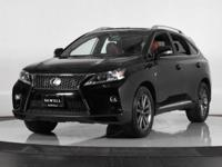 One-Owner AWD 2015 Lexus RX 350 F-Sport. Warranty And