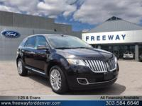 Tuxedo Black Metallic 2015 Lincoln MKX AWD 6-Speed