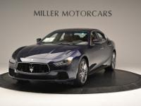 This is a Maserati Ghibli for sale by Miller Motorcars.