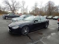 CARFAX One-Owner. Clean CARFAX. Nero 2015 Maserati