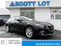 2015 Mazda Mazda3 S-TOURING HATCHBACK. Certified. Clean