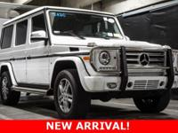 Recent Arrival! 2015 Mercedes-Benz G-Class. This