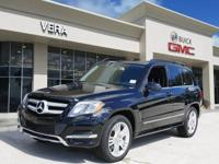 This Obsidian Black Metallic 2015 Mercedes-Benz GLK GLK