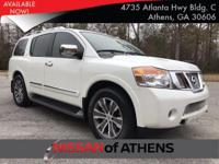 Come see this 2015 Nissan Armada SL. Its Automatic