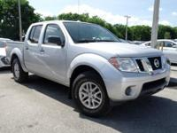 Options:  2015 Nissan Frontier Sv|Silver|Priced Below