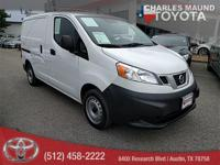NV200 S, 4D Cargo Van, 2.0L 4-Cylinder DOHC 16V, and