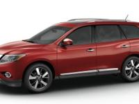 This outstanding example of a 2015 Nissan Pathfinder S
