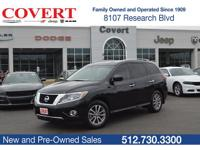 CARFAX One-Owner. Navigation, Pathfinder SV, 4D Sport