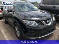 Super Black 2015 Nissan Rogue SV FWD CVT with Xtronic