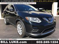 Options:  2015 Nissan Rogue S|Black|All Performed