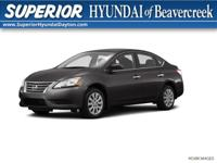 Recent Arrival! 2015 Nissan Sentra SV Gray BLUETOOTH,