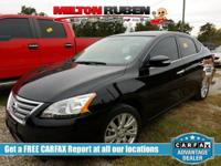 Options:  2015 Nissan Sentra Sl|Miles: 48107Color: