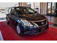 We are excited to offer this 2015 Nissan Versa. This