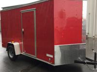 2015 Other 6X12 SA New 6x12 VNose Cargo Trailers Cargo