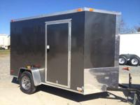 2015 Other New 6x10 VNose Enclosed Trailer New 6x10