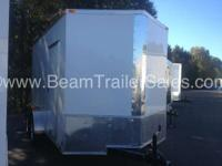 2015 Other New 6x12 Tandem Axle VNose Enclosed Trailer
