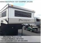 2015 PALAMINO BACKPACK 1251 CAMPER CAMPER, Call for