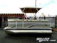 A Premier pontoon is a blend of the best in classic