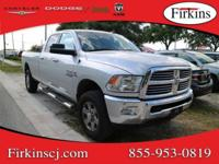 New Price! CARFAX One-Owner. Silver 2015 Ram 2500 Big