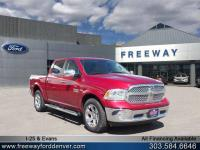 Deep Cherry Red Crystal 2015 Ram 1500 Laramie 4WD