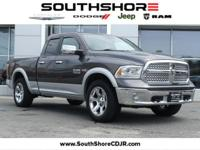 CARFAX One-Owner. 2015 Ram 1500 Laramie Bright Silver