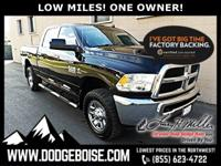 *** LOW MILES *** ONE OWNER *** TOWING PACKAGE ***