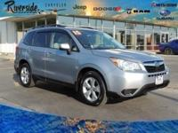 New Price! CARFAX One-Owner. 2015 Subaru Forester 2.5i